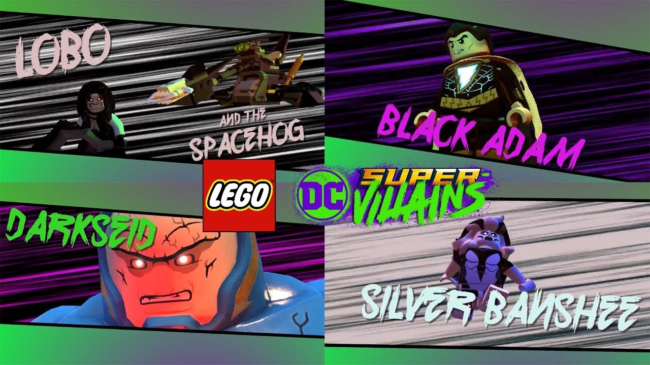 LEGO DC Super Villains - Lobo, Black Adam, Darkseid ...