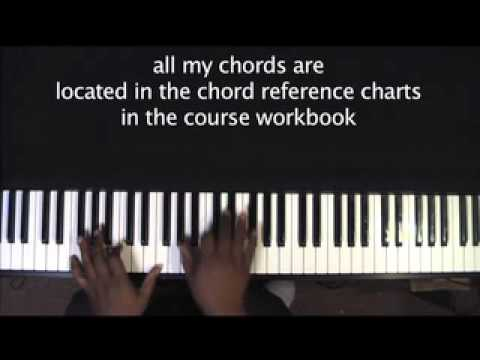 "Sam's Gospel Music Course "" Center of My Joy"" lesson for Advanced Keyboard/Piano"