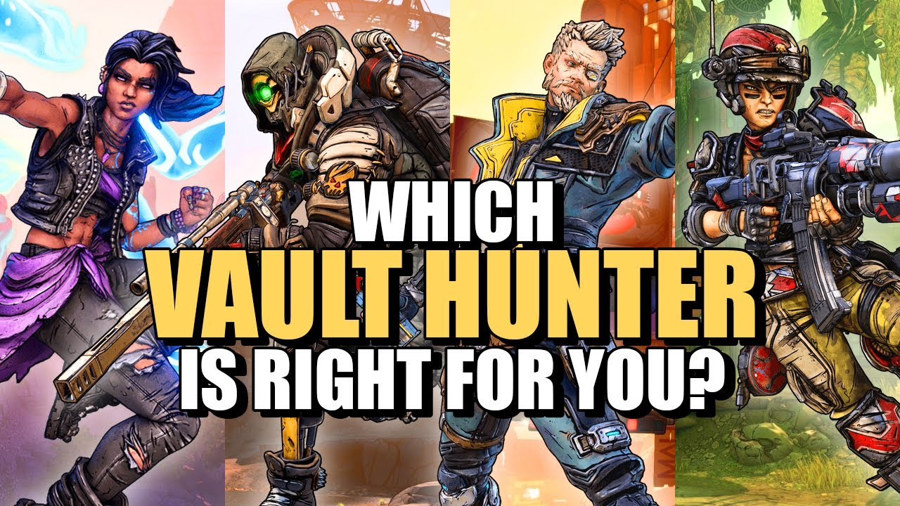Borderlands 3: The Best Vault Hunter For You thumbnail