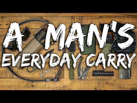 A MAN&39;s EDC - Proper Everyday Carry Gear plus EXTRAS