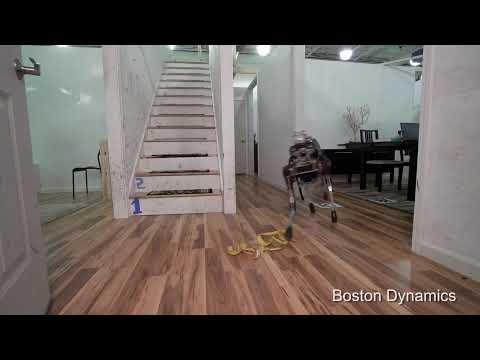 Hilarious robot revenge video parodies Boston Dynamics