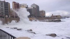 Malta Storm 2016, St.Julian's, Sliema -  December