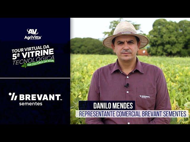 Danilo Mendes, Representante Comercial Brevant Sementes