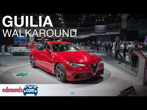 2017 Alfa Romeo Giulia Quadrifoglio Walkaround - Los Angeles Auto Show