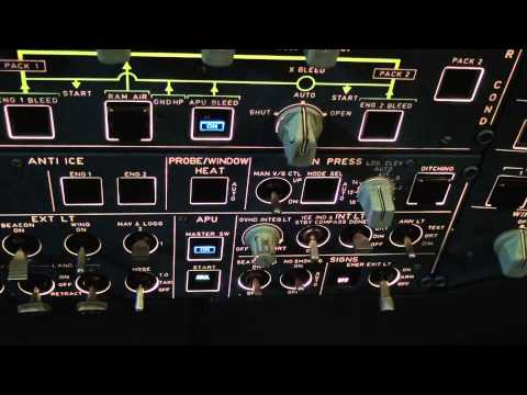 Flying Airbus A320: full flight video from the cockpit (part 1) - Baltic Aviation Academy