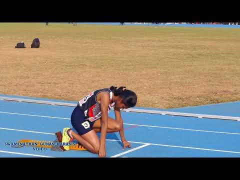 YOUTH GIRL'S U18 400m RUN FINAL .33rdNational Junior Athletics Championships 2017