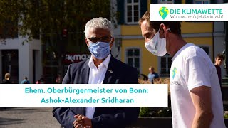 """Ashok-Alexander Sridharan: """"Wir können alle einen Beitrag leisten, um den Klimawandel aufzuhalten!"""""""