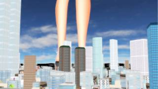 Repeat youtube video giantess mmd test 7/8,2014