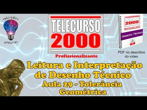 video aula telecurso 2000 desenho tecnico