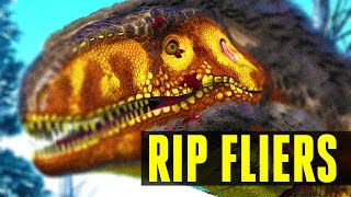 megalosaurus end of fliers how to tame everything you need to know ark survival evolved 252