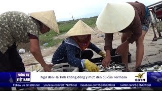 17/10/16 - PHÓNG SỰ VIỆT NAM: Người dân Hà Tĩnh không đồng ý mức bồi thường của Formosa