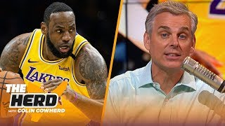 Colin Cowherd plays his NBA 3-Word Game | THE HERD