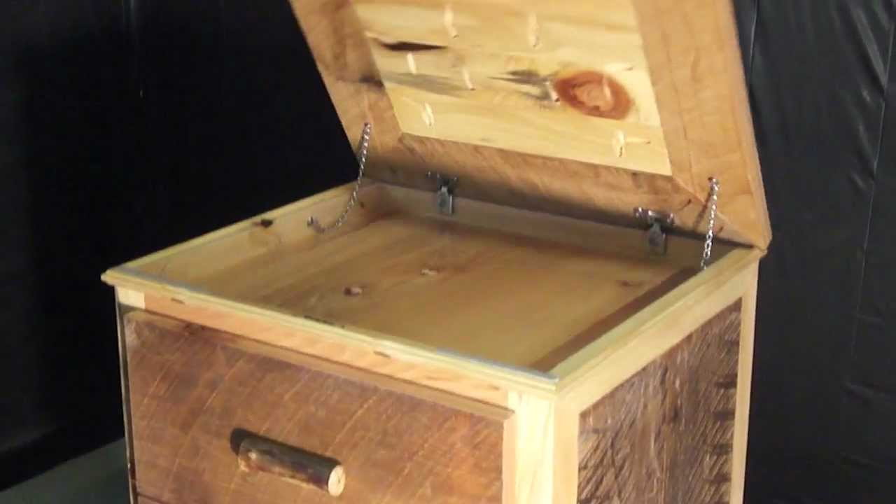 NIGHTSTAND WITH GUN CONCEALMENT - YouTube