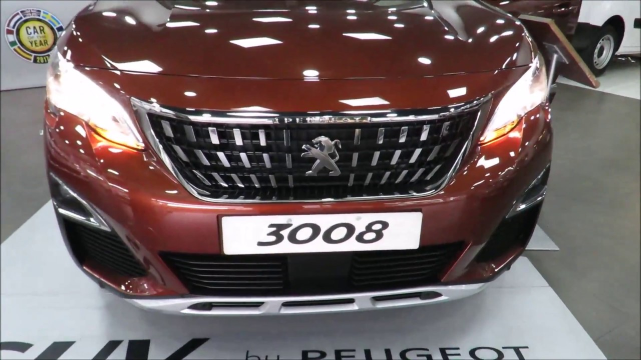 peugeot 3008 2018 revision completa la suv del momento youtube. Black Bedroom Furniture Sets. Home Design Ideas