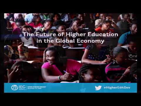 IEG Event: The Future of Higher Education in Global Economy