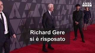 Terzo sì per Richard Gere, l'attore ha sposato Alejandra Silva