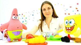 Видео для девочек: Спанч Боб учится готовить