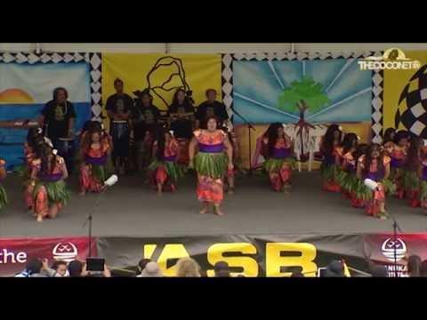 Polyfest 2015 Niue Stage Auckland Girls Grammar School