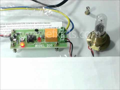 controlling temperature using thermistor without microcontroller rh youtube com