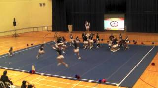 Team Pilipinas wins Gold at the 1st Southeast Asian Cheerleading Open in Singapore (HD)