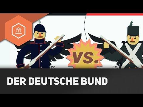 Das Deutsche Reich vor der Einigung - Deutscher Bund und Flickenteppich