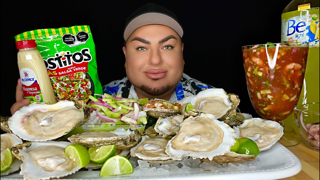 GIANT Fresh Raw Oysters • Mariscos • LIFE UPDATES