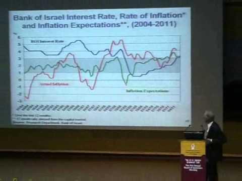 Prof. Stanley Fischer lectures at Ben-Gurion University of the Negev