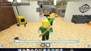 Dying in roblox deathrun a lot