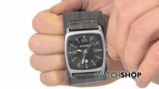 Kahuna Men's Cuff Cuff Watch (KUC-0031G)