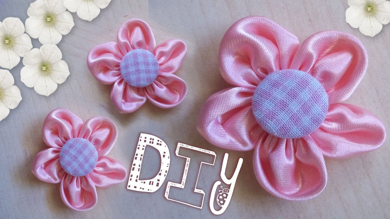 Tutorial come realizzare un fiore di stoffa diy pink for Tutorial fermaporta di stoffa
