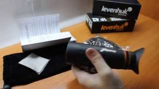 Обзор Монокуляра Levenhuk Wise PLUS 10x42. Тест оптики!
