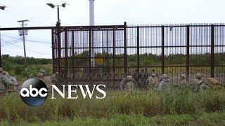 Trump argues national security 'crisis' at US southern border