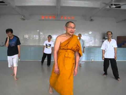 Ajahn Suthep teaching Qi Gong (without music)