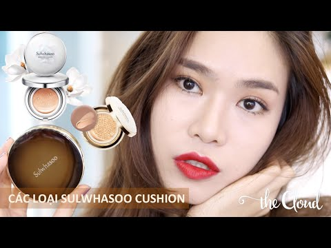 TẤT CẢ VỀ SULWHASOO PERFECTING CUSHION   BRIGHTENING   INTENSE   Test & Review & So sánh