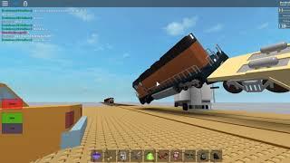 ROBLOX Zug stürzt auf Sandkasten-Tester