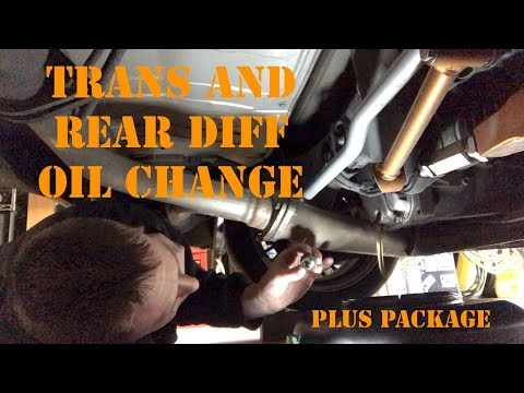 Transmission and Rear Diff Oil Change Plus New Stuff