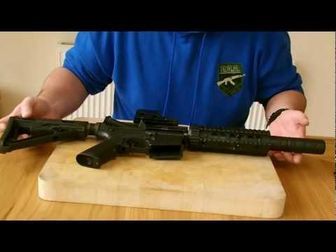 How to clean an airsoft gun barrel M4 (D.O.A)