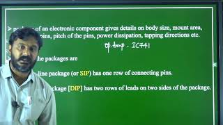 I PUC | ELECTRONICS | INTRODUCTION TO PRACTICAL ELECTRONIC COMPONENTS & PCB   - 01