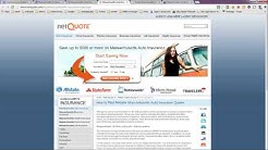 Auto Insurance Quotes in Massachusetts - Compare and Save