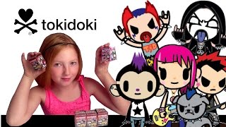 TOKIDOKI PUNKSTAR and HELLO KITTY Frenzies Blind Box Unboxing!!!