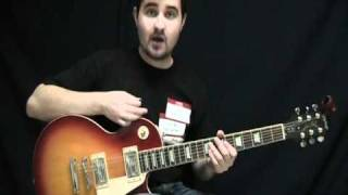 Epiphone Les Paul Standard Review and Demo - Epi LP Std. Plain Top w/ Alnico Classic Humbuckers