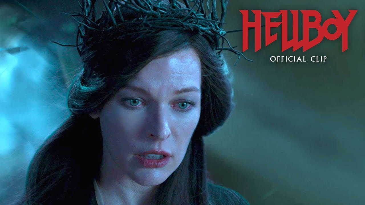 "Hellboy (2019 Movie) Official Clip ""Arrived"" – David Harbour, Milla Jovovich"