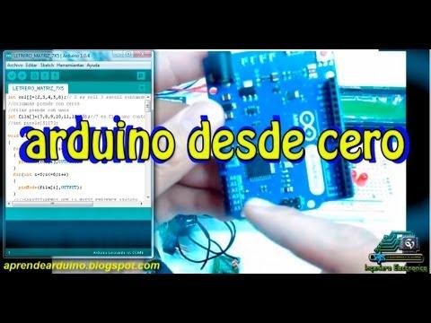 arduino from  zero