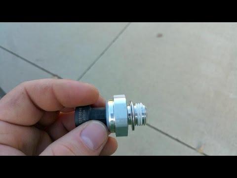 GM LS4 V8 - How to change the Oil Pressure Sending Unit & DoD Filter