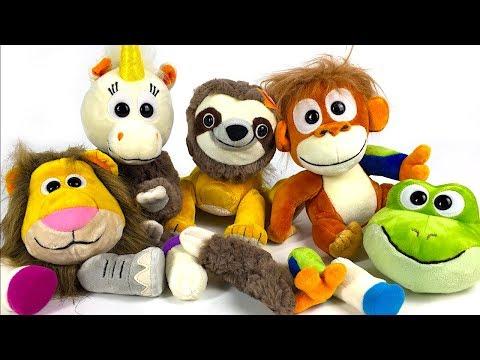 unboxing-animoodles-with-elephant-unicorn-lion-frog-sloth-&-orangutan
