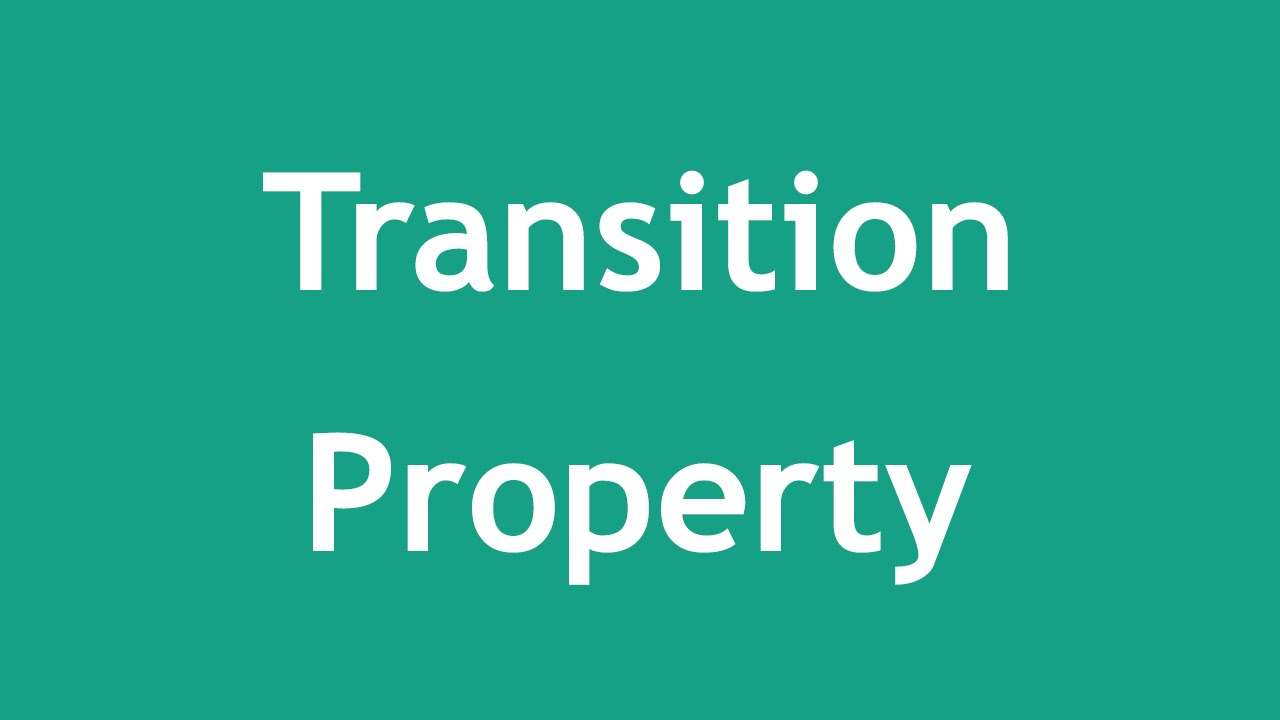 [ Css3 In Arabic ] #33 - Transition - Property | Duration