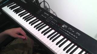 "How to play ""Family Affair"" by Mary J. Blige - keyboard tutorial"