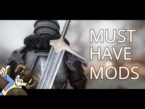 MUST HAVE! SKYRIM - 20 USEFUL MODS