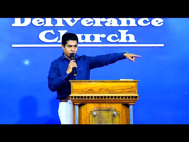 Pr.Shajan George - Deliverance By Fire 30.03.2018