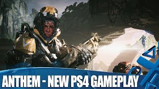 Anthem - New PS4 Gameplay